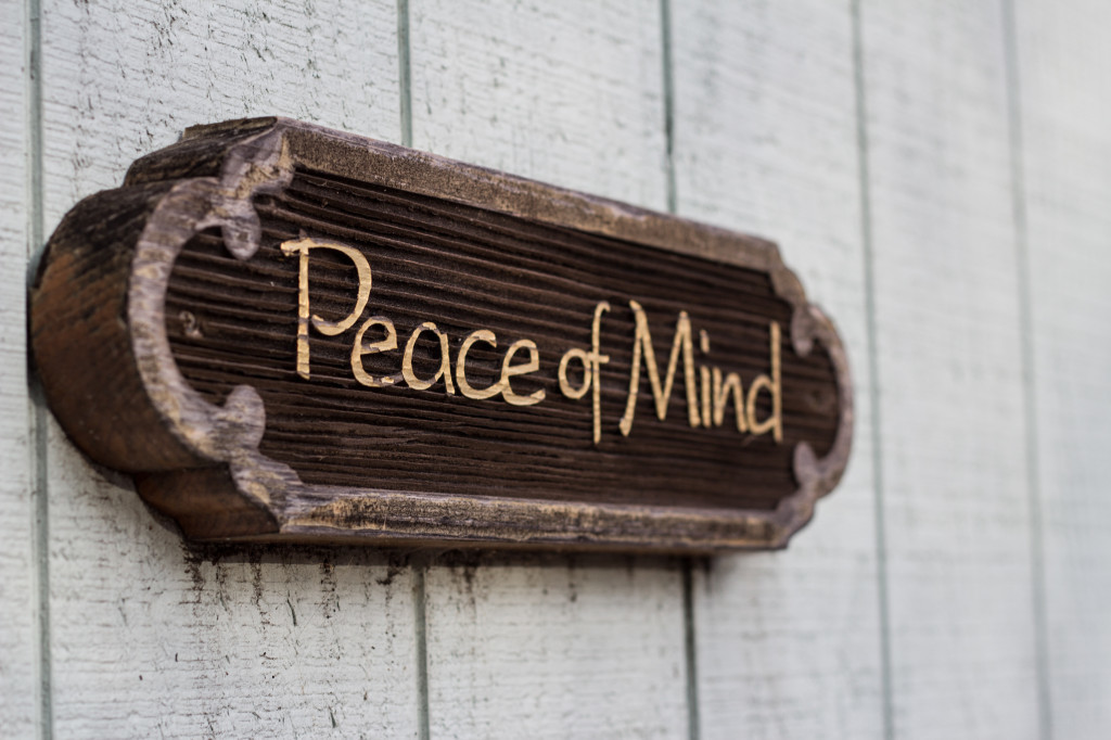 Peace of Mind, sign